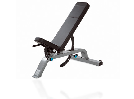 Our Icarian Strength Line features a complete range of benches and racks distinguished by attention to biomechanics, comfortable touch points, and easy-to-use adjustments.