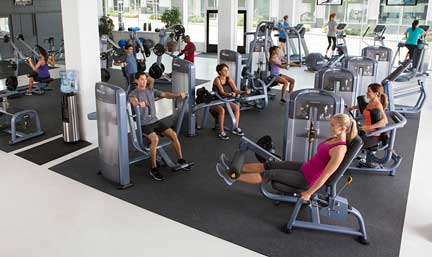 Precor is one of the world's largest commercial gym fitness equipment suppliers.  Our professional strength machines are chosen by thousands of health clubs in over 90 countries.