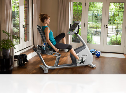 Exercise in total comfort on the same bikes found in health clubs worldwide. Buy an upright or recumbent bike and enjoy your fitness workouts at home.