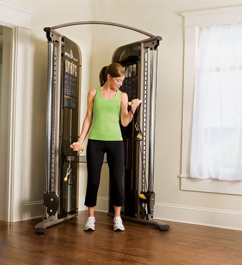 Strength training s functional trainer for home precor
